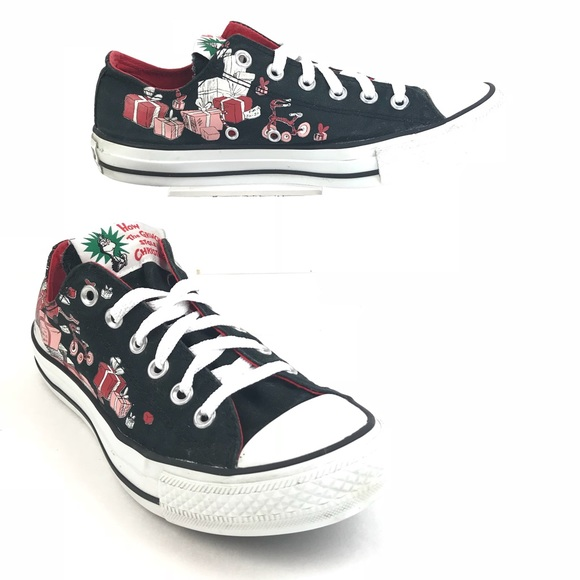 ebcf02d21bd9 Converse Shoes - Converse All Star Grinch Stole Christmas Low Tops